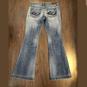 Express Bootcut Jeans Size 6 Long